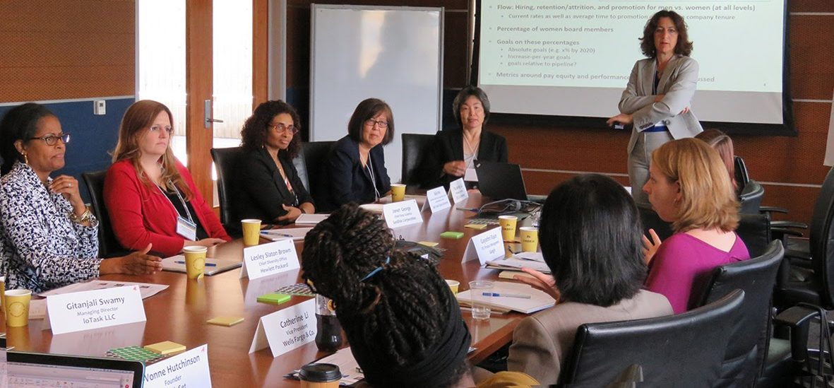 Photo of Leadership roundtable participants
