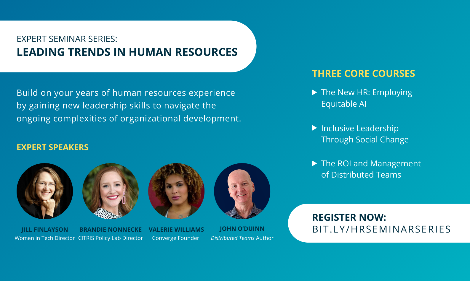 Expert Seminar Series: Leading Trends in Human Resources